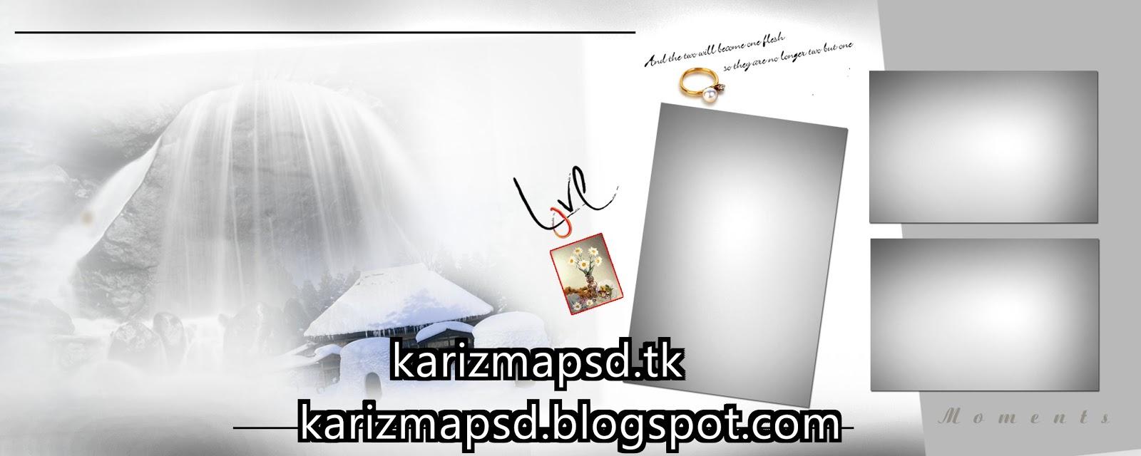 6×15 Indian Karizma Wedding Album Photoshop PSD Templates Set 10 ...